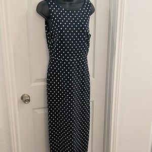 Midi length Polka For Dress